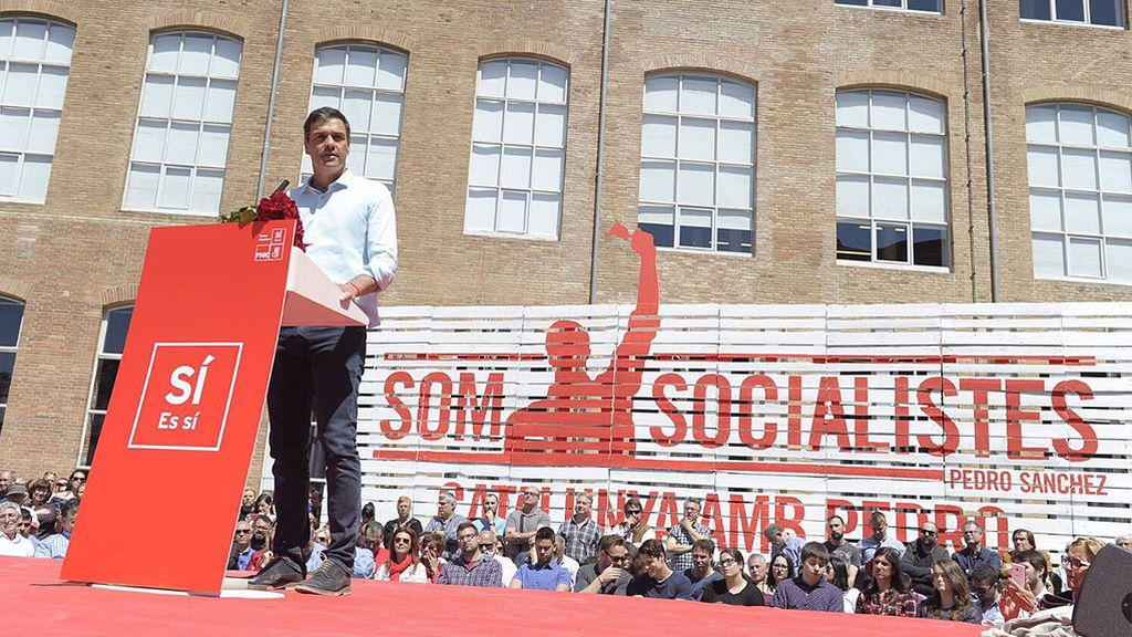 """Pedro Sánchez: """"Hay que reconocer a Cataluña como lo que es, una nación"""""""