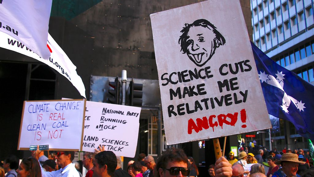 Marcha por la Ciencia en Sidney, Australia