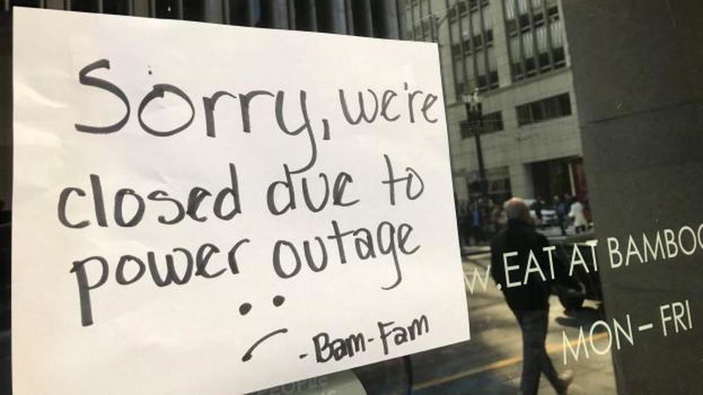 Un apagón deja sin luz a 90.000 personas en San Francisco durante siete horas