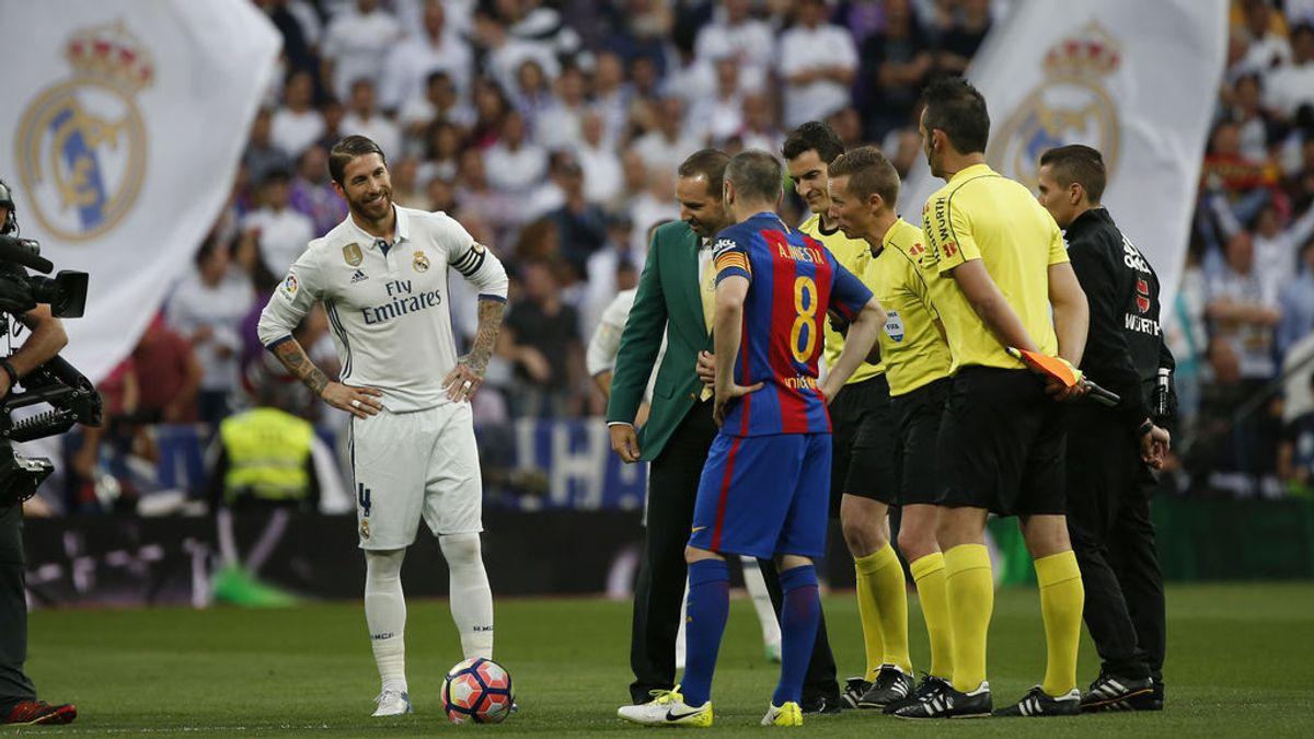 El madridismo arropa a Sergio García antes del saque de honor en el Bernabéu