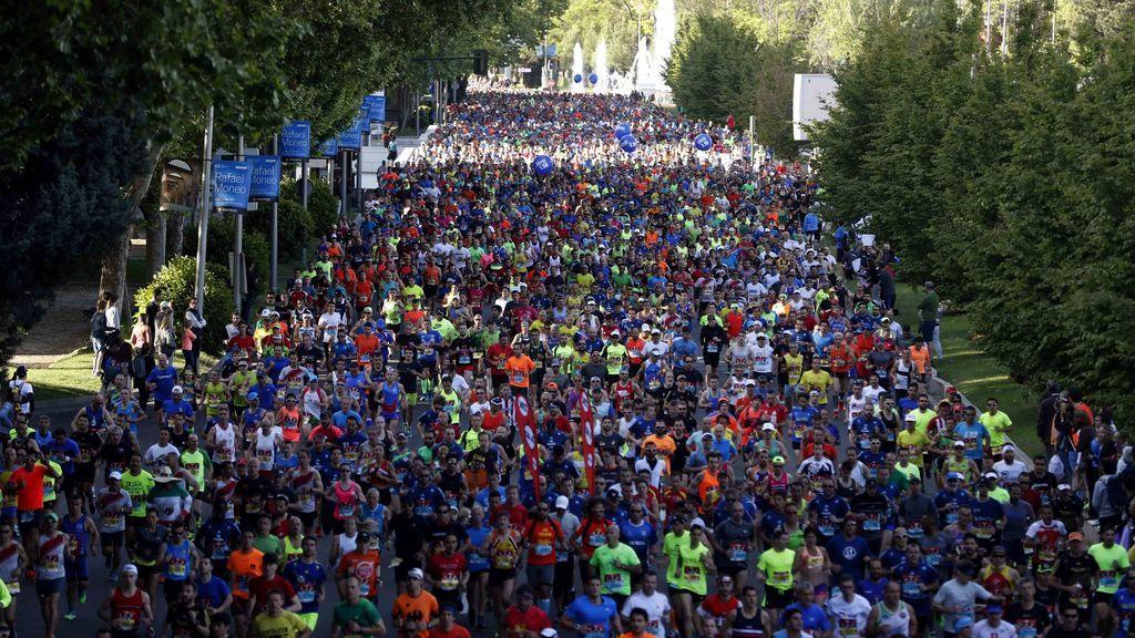 Un hombre de 53 años sufre un infarto durante el Maratón de Madrid