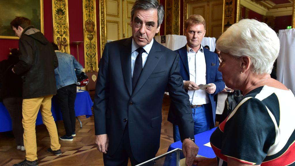 Las imágenes de la jornada electoral en Francia