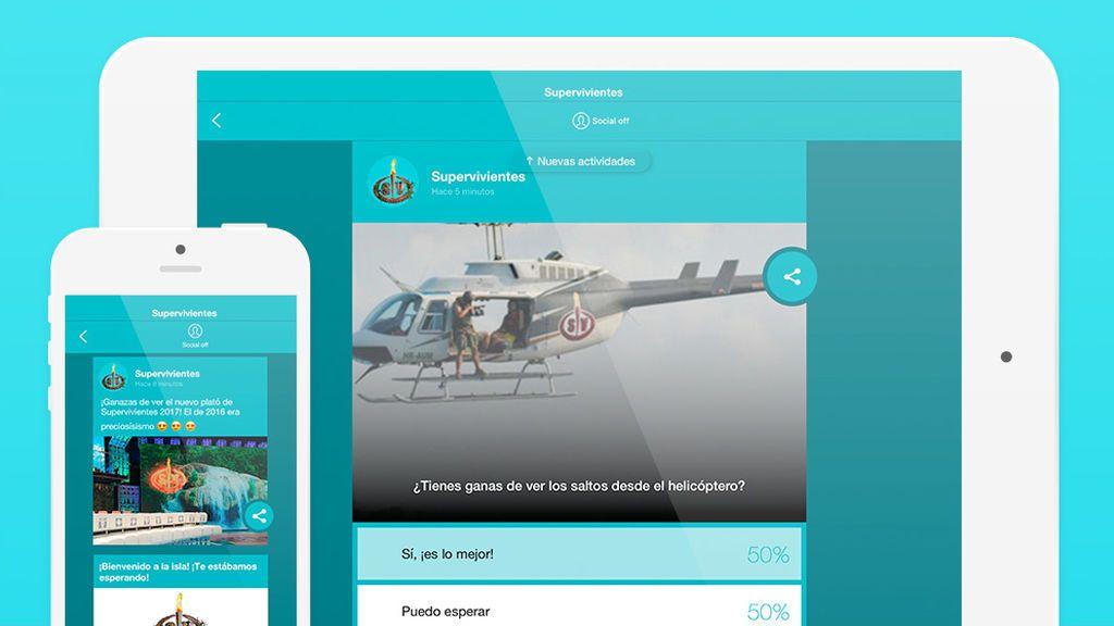 ¡Los usuarios de mitele proclaman a Iván ganador de los saltos desde el helicóptero de 'SV 17'!