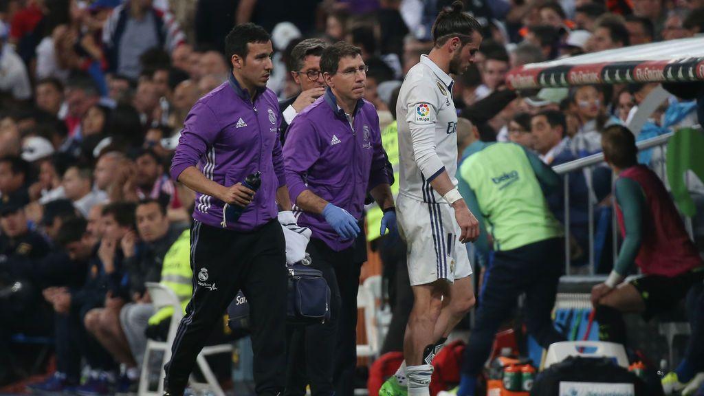¡Alarmas en el Real Madrid! Bale sufre un otra lesión en el gemelo derecho