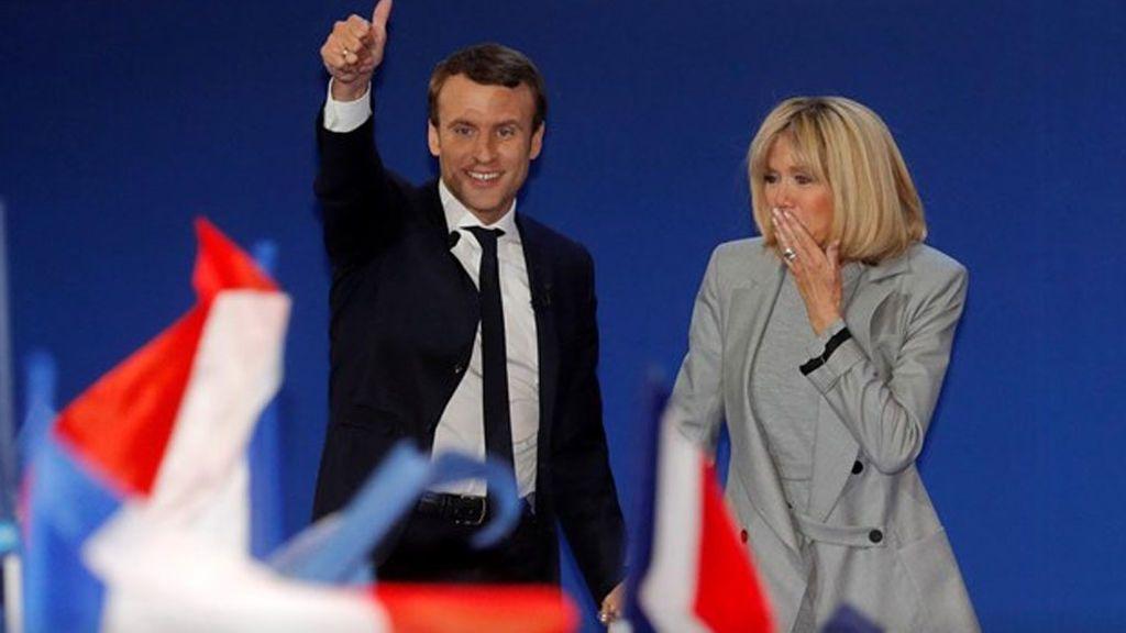 Macron lanza un llamamiento a la unidad para culminar su meteórico ascenso