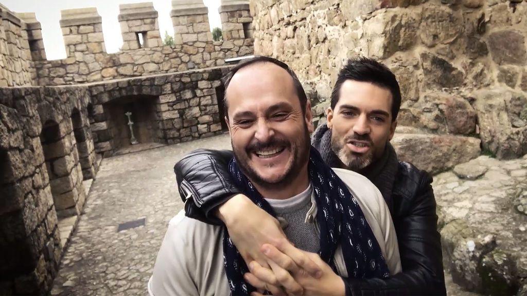 Muchamiel: Nacho Montes y Roger se meten en la piel de 'Romeo y Julieto' para vivir un día de cuento