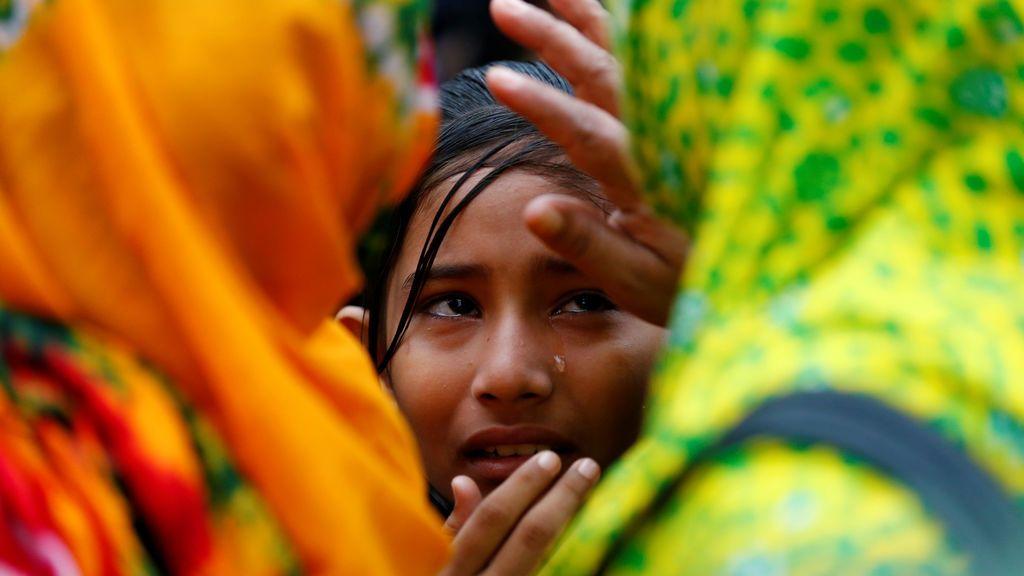 Cuarto aniversario del derrumbe de un edificio en Bangladesh