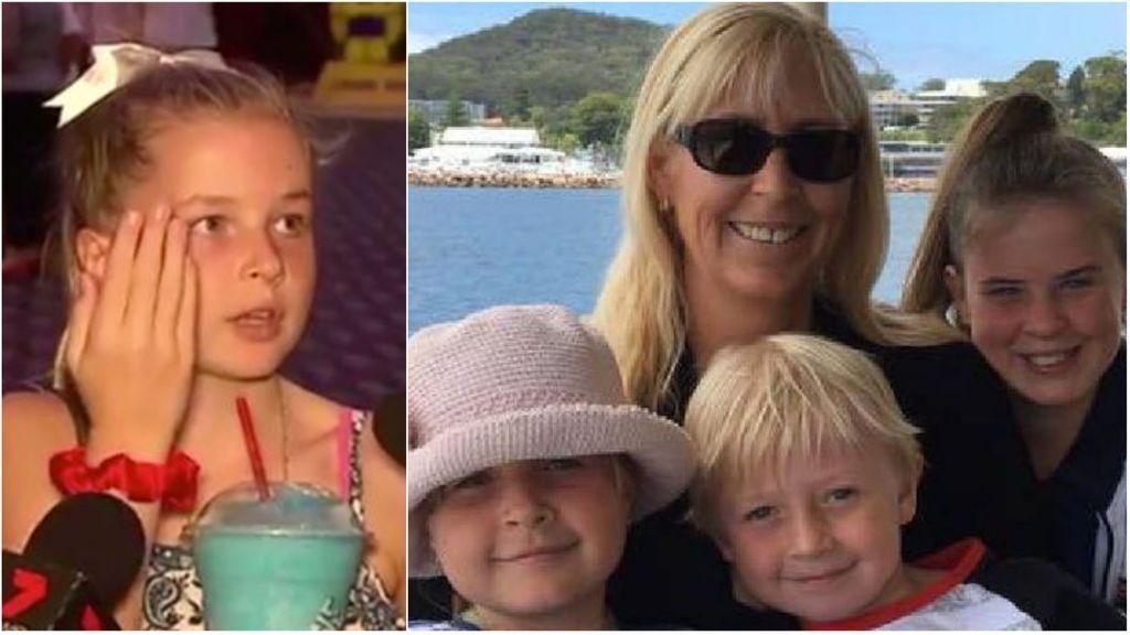 Una niña de 8 años cuenta cómo sobrevivió al accidente en el que murieron tres familiares