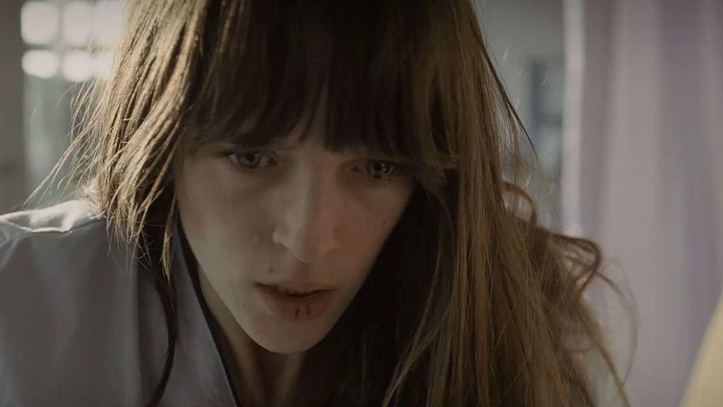 Ana Saura, en shock