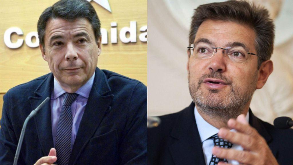 Justicia confirma el SMS de Catalá a Ignacio González, pero no por la causa judicial