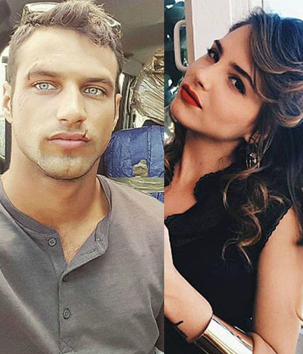 Jesús Castro y Andrea Duro
