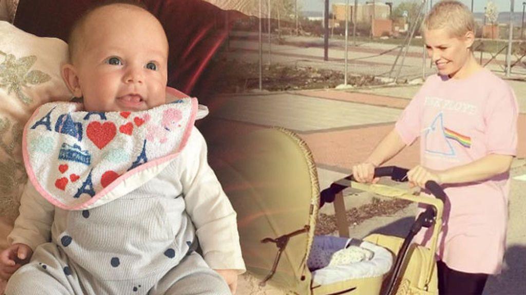 La hija de Soraya cumple 2 meses y está como una rosa: ¡Felicidades Manuela!