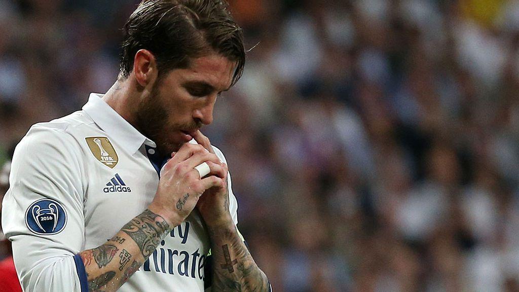 Sergio Ramos, sancionado con un partido por su expulsión en el Clásico ante el Barcelona