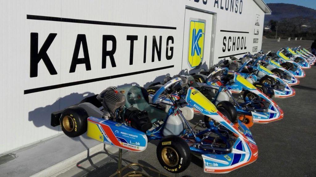 El mundo del motor se vuelca con los homenajes a Gonzalo Basurto, el niño de 10 años fallecido en Asturias durante un entrenamiento de 'karts'