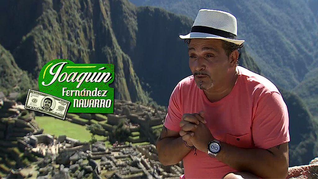 """Joaquín: """"Voy a visitar lo que ningún gitano ha visitado, el Machu Pichu"""""""