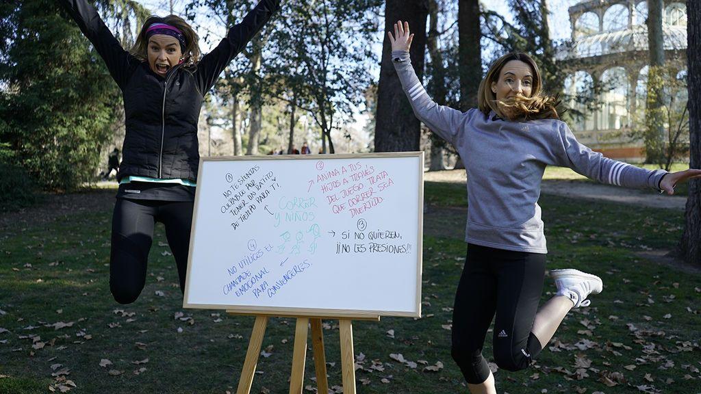 Madre y corredora: aprende a compaginar pasión y familia en 'Mujeres runners'