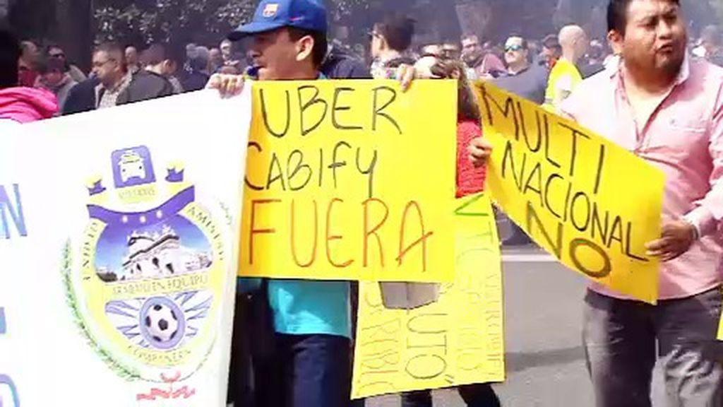 Los taxistas, en pie de guerra