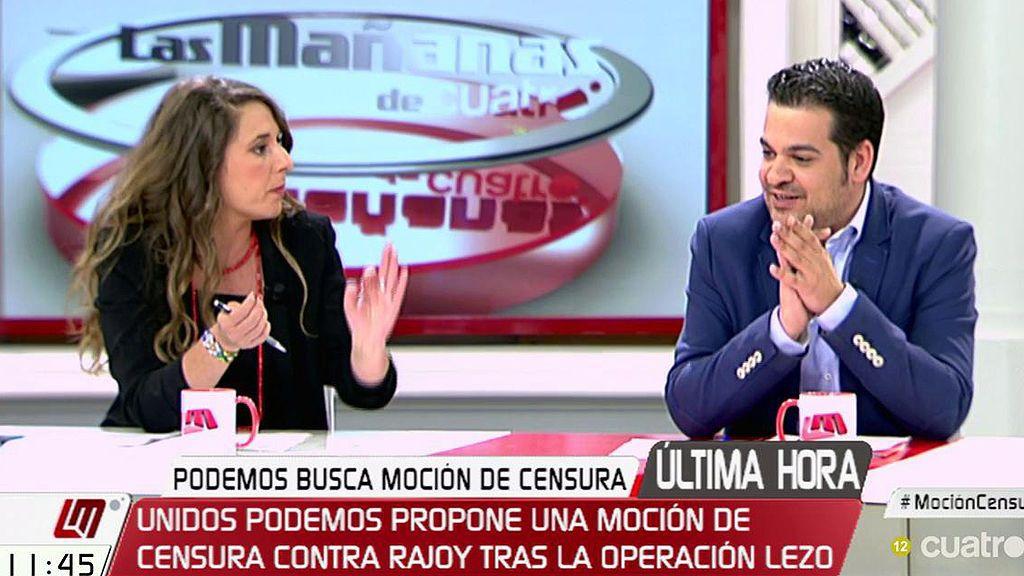 """Nino Torre (PSOE) cree que la moción de censura de Podemos """"no es seria"""" y la califica como """"fuegos de artificio"""""""