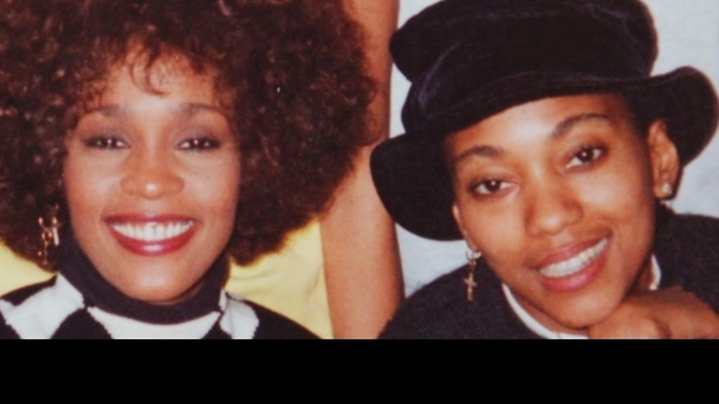 Robyn Crawford y Whitney Houston