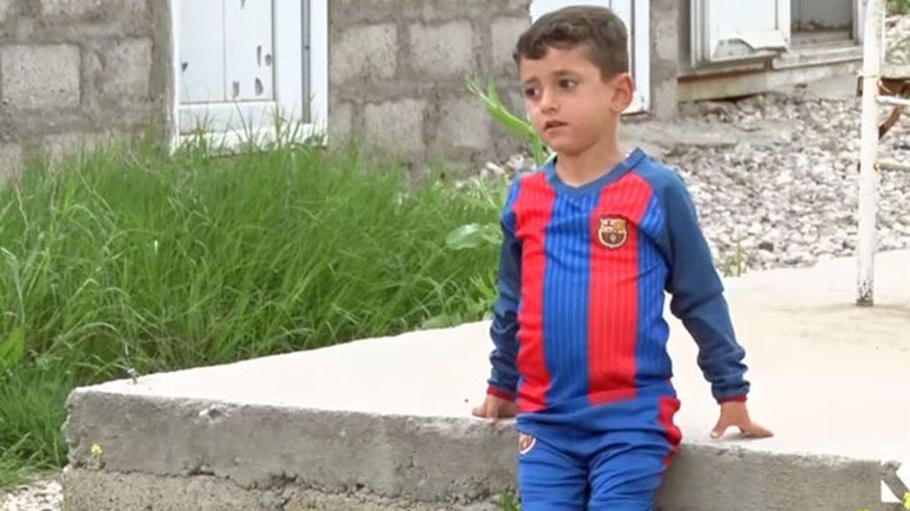 Messi, el niño al que el Estado Islámico obligó a cambiar de nombre
