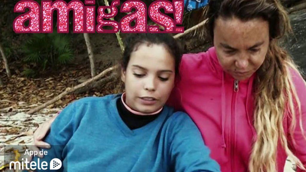 Leticia y Gloria Camila se hacen inseparables