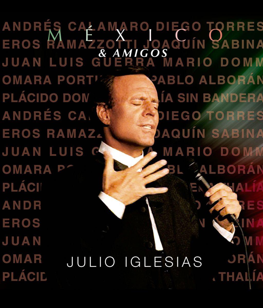 'México & Amigos' el  nuevo disco de duetos de Julio Iglesias sale a la venta el próximo 5 de mayo ¡Regálaselo!