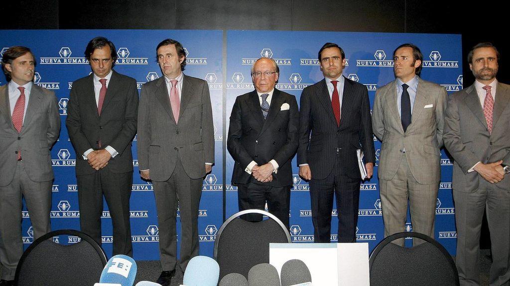 Fianza de 500 millones para seis hijos de Ruiz-Mateos por el caso Nueva Rumasa
