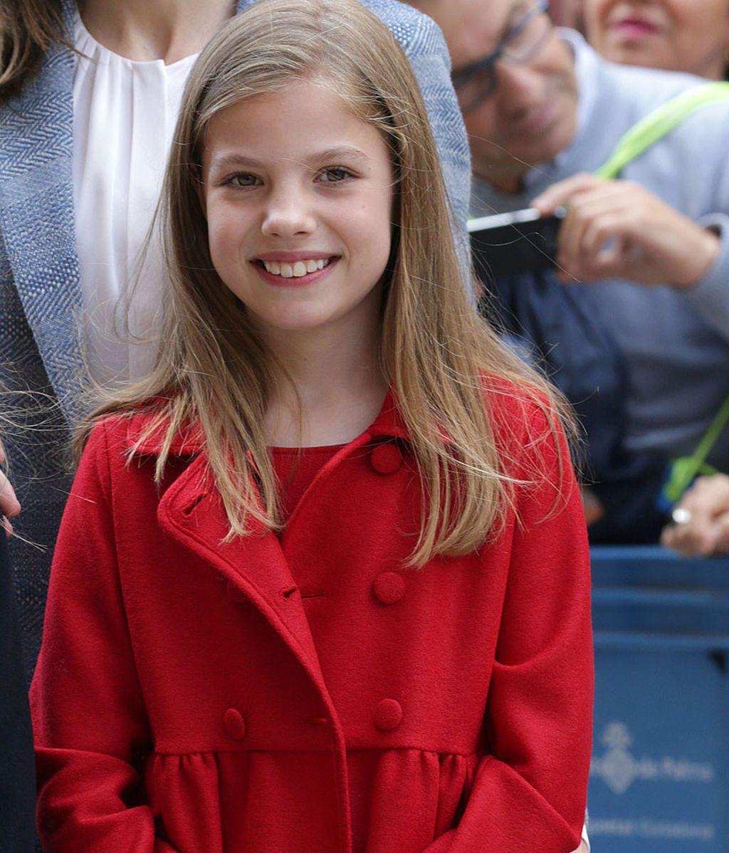 ¡Sofía ya tiene diez años! Así ha sido la evolución del estilo de la pequeña de la Casa