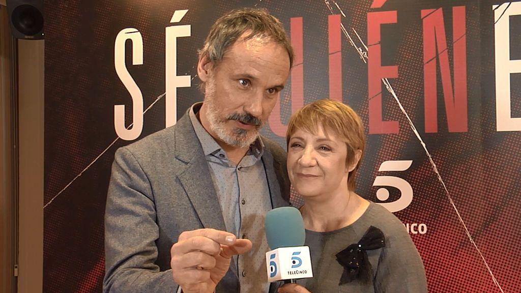 Así se grabó el último capítulo de 'Sé quién eres': Francesc Garrido y Blanca Portillo nos lo cuentan