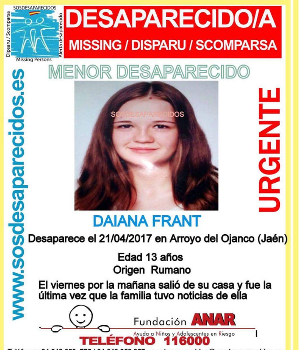 La Guardia Civil investiga la fuga de una niña de 13 años en un pueblo de Jaén
