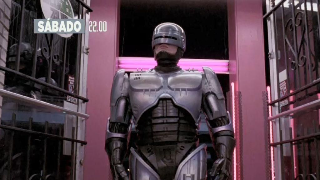 Este sábado a las 22:00 horas llega 'Robocop', la historia del robot-policía