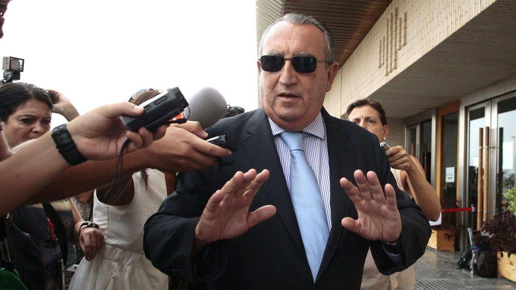 Carlos Fabra, en libertad tras haber cumplido tres cuartas partes de su condena