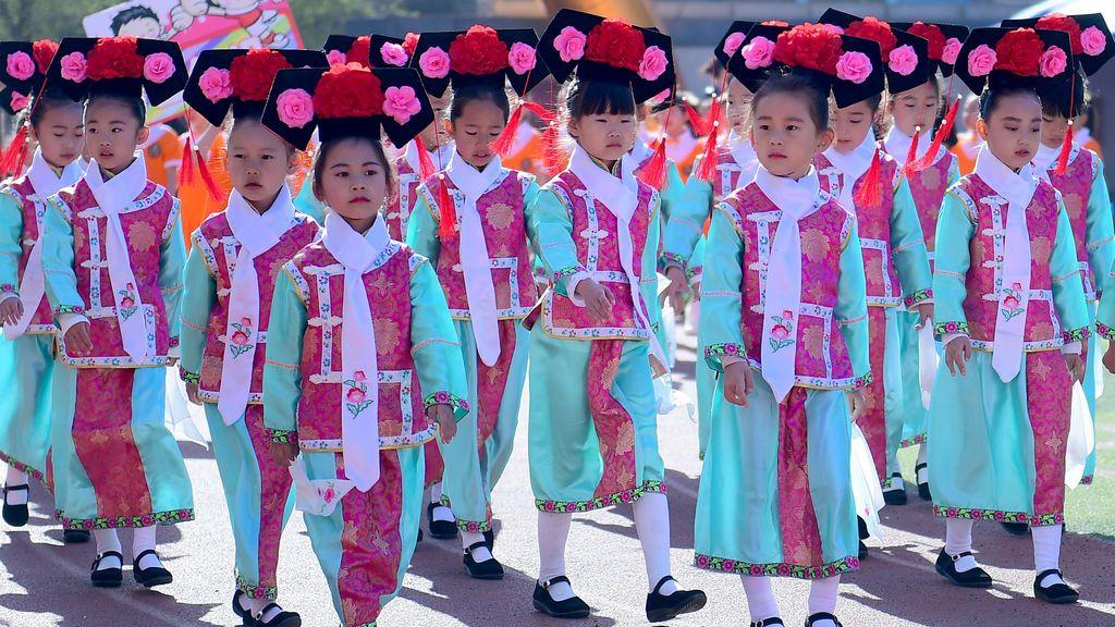 Trajes tradicionales chinos