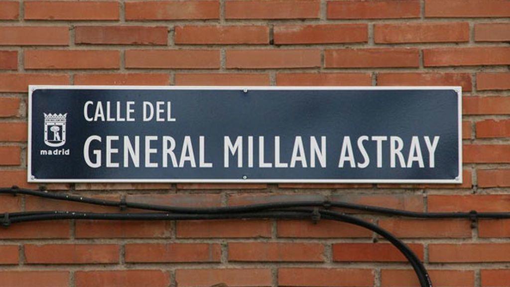 Placa calle Madrid callejero Ley Memoria Histórica