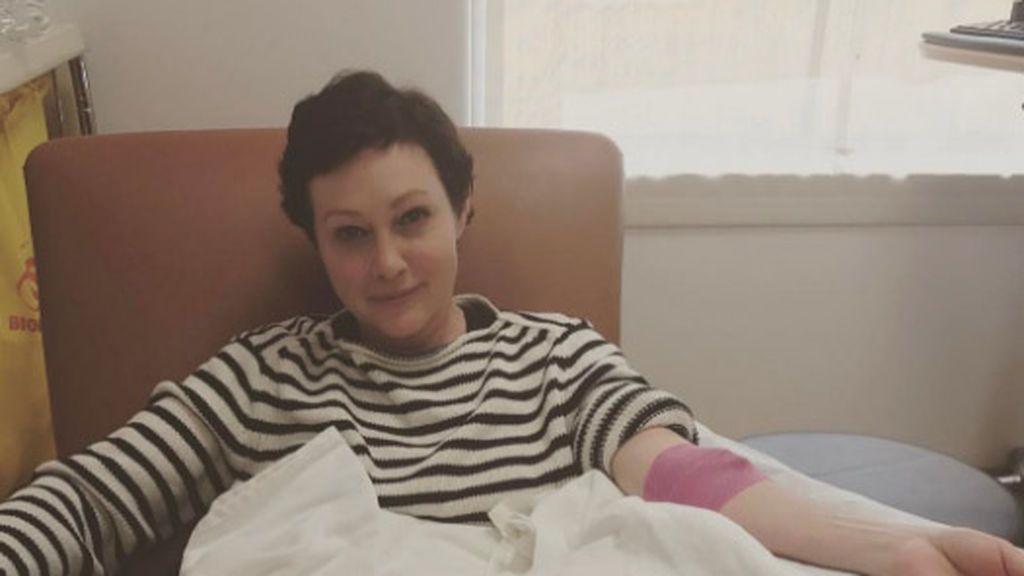 Buenas noticias para Shannen Doherty, la actriz de 'Embrujadas'