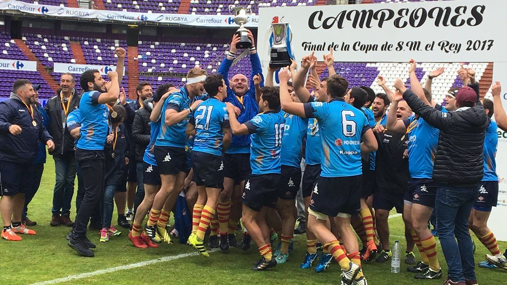 UE Santboiana gana la Copa del Rey de rugby: Su número 12 en la historia