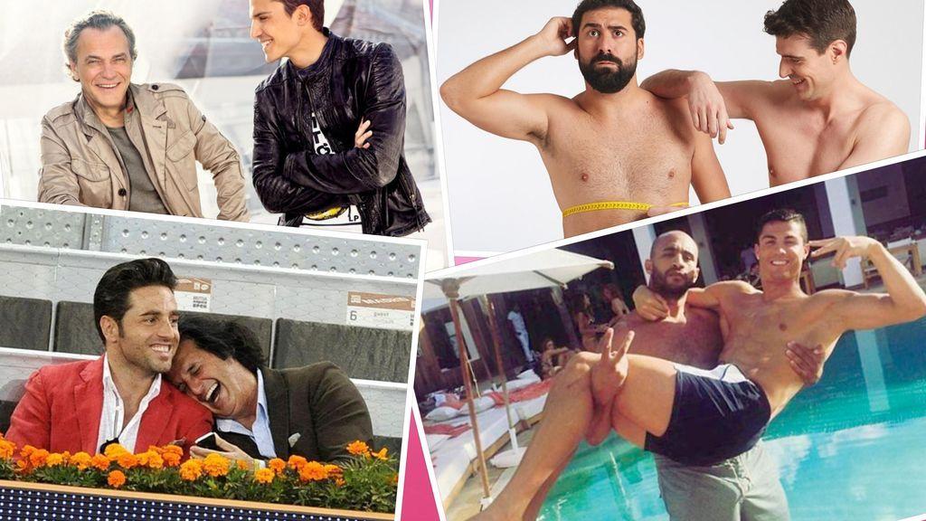 Bromances VIP: Hombres famosos que son 'más que amigos'