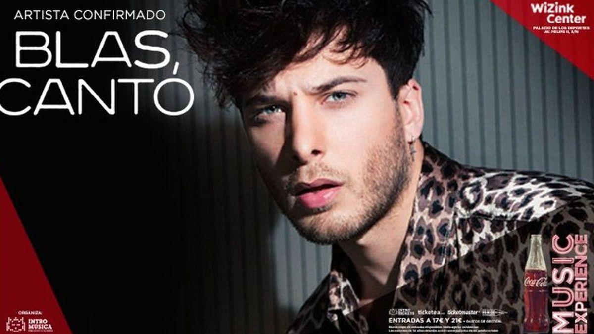 Blas Cantó confirma que presentará su nuevo disco en el #CCME 2017