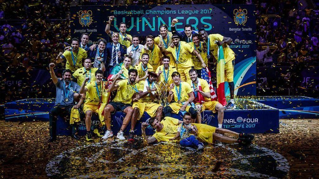 Iberostar Tenerife, campeón de la Champions en el Santiago Martín al superar al Banvit