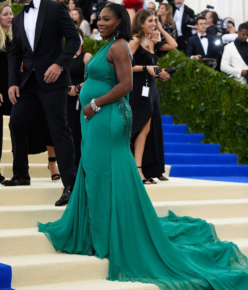 Serena Williams vestida de Versace