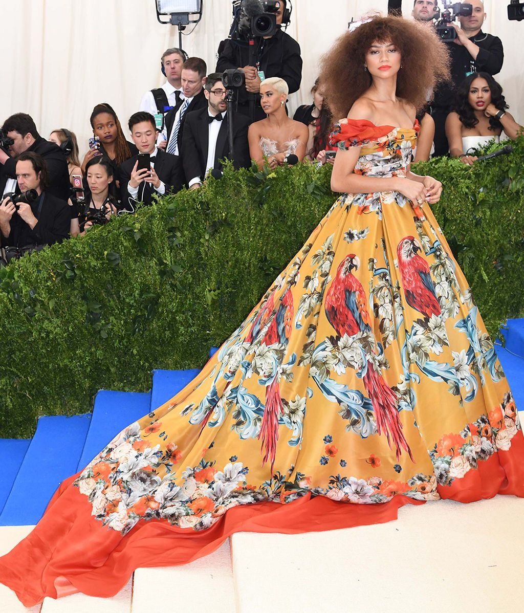 Zendaya vestida de Dolce & Gabbana Alta Moda