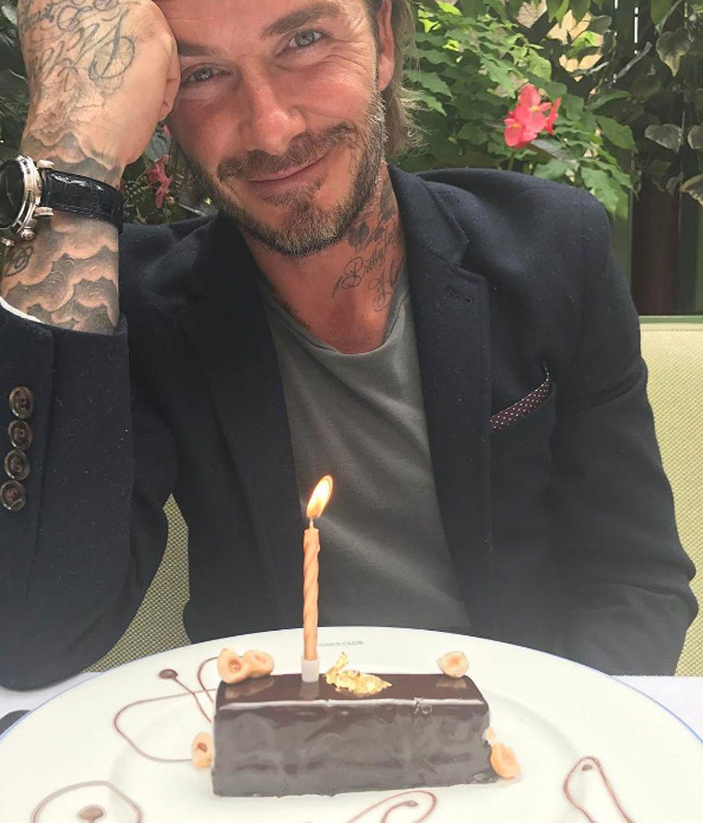 David Beckham cumple 42 años con las emotivas felicitaciones de su familia
