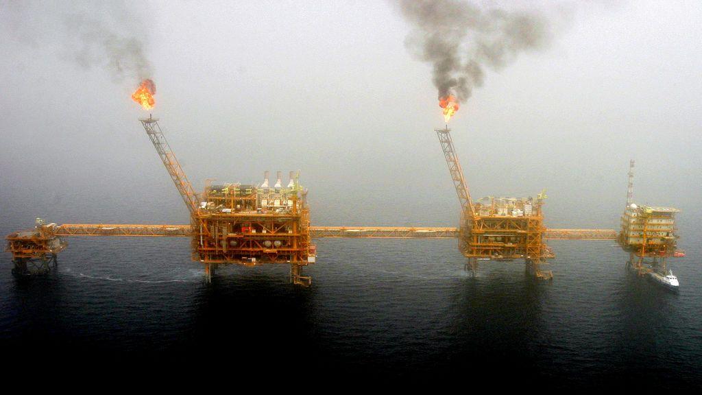 Producción de petróleo en el Golfo Pérsico