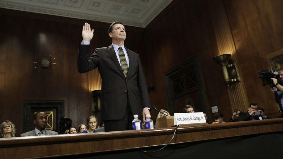"""Comey, el jefe del FBI: """"Yo no he sido"""""""