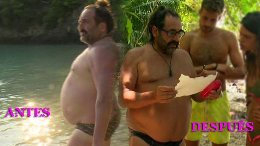 Juan Miguel pierde 11 kilos, pero no sabes de dónde