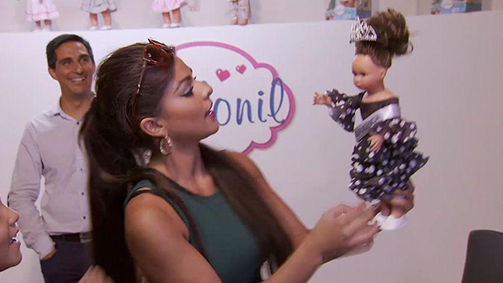 ¡La Rebe ya tiene su muñeca gitana!