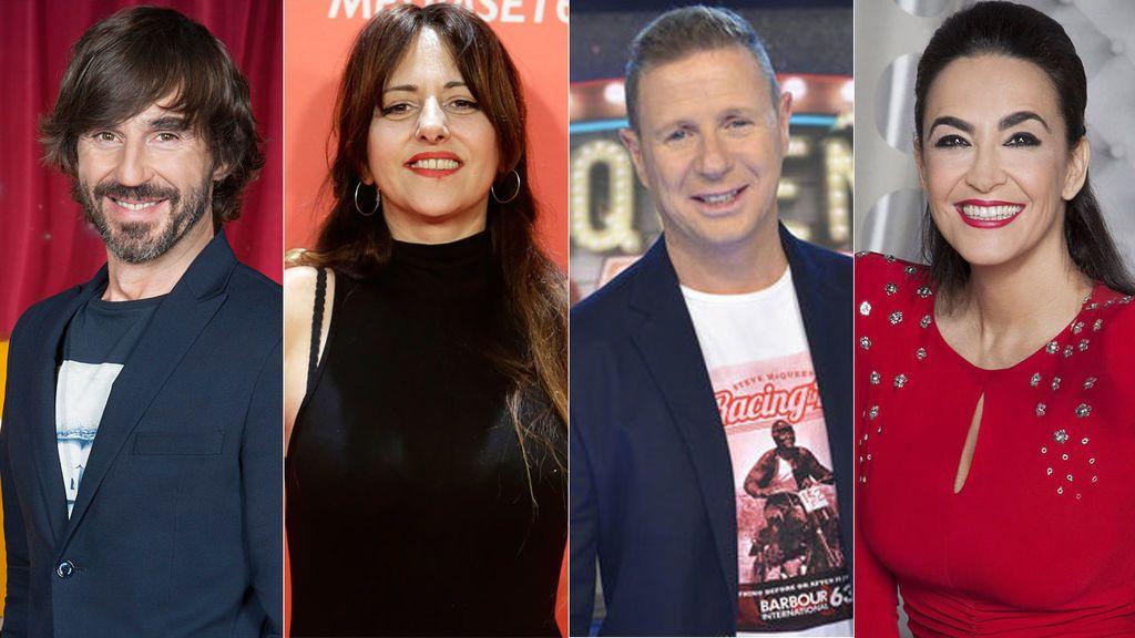 Santi Millán, Yolanda Ramos, Jorge Cadaval y Cristina Rodríguez compondrán el jurado de 'Me lo dices o me lo cantas'
