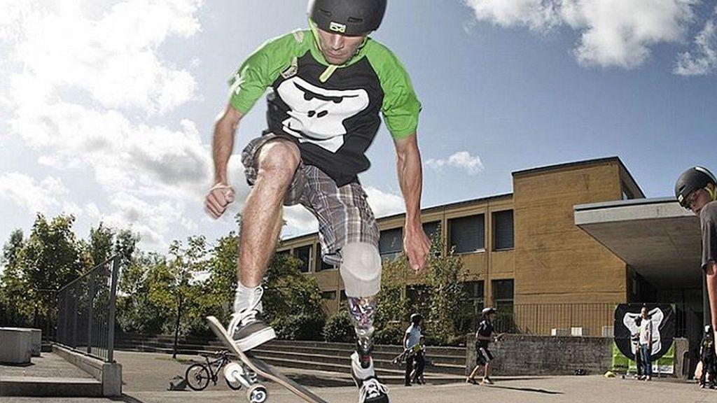 Thomas Winkler, el crack del skate con una sola pierna que maravilla en las redes sociales