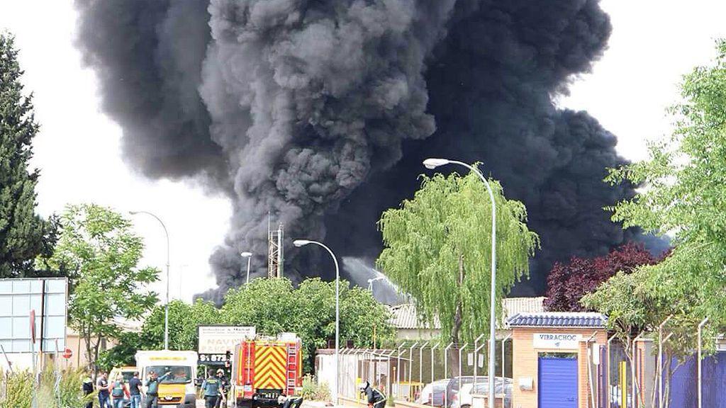 explosion planta quimica
