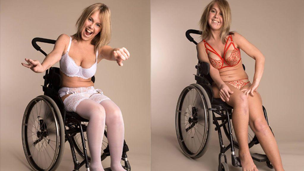 Moha Frikraft, la modelo en silla de ruedas que ha roto todos los estereotipos